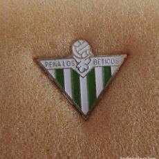 Colecionismo desportivo: PIN PEÑA LOS BÉTICOS DE BADIA DEL VALLES FEDERACION CATALANA FUTBOL. Lote 210060788