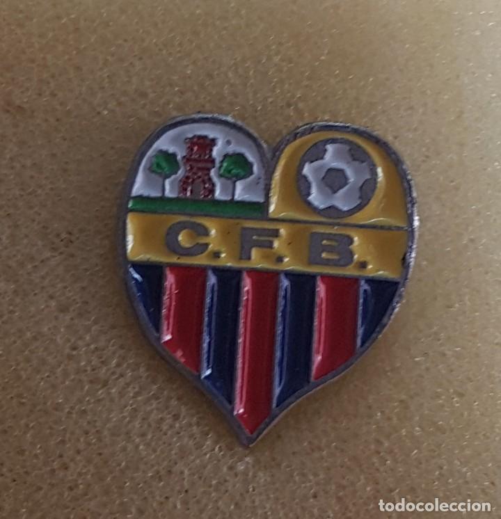 PIN C.F. BÁRBARA DE BARBERÁ DEL VALLES FEDERACION CATALANA FUTBOL (Coleccionismo Deportivo - Pins de Deportes - Fútbol)