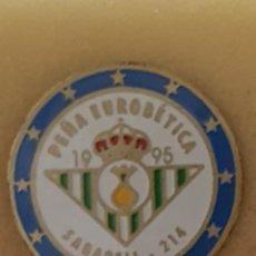 Colecionismo desportivo: PIN PEÑA EUROBETICA DE SABADELL. Lote 210152308