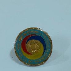 Coleccionismo deportivo: PIN FEDERATIA ROMANA DE FOTBALL (2328). Lote 210304280