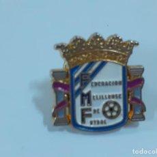 Coleccionismo deportivo: PIN FEDERACION MELILLENSE DE FUTBOL (2341). Lote 210305265