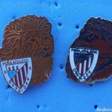 Coleccionismo deportivo: PIN ATHLETIC BILBAO PEÑA OSABIDEA GARES. Lote 210473065