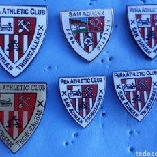 Collezionismo sportivo: PIN ATHLETIC BILBAO PEÑA TROKOZALEAK. Lote 210483593