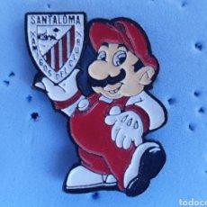 Collezionismo sportivo: PIN ATHLETIC BILBAO PEÑA SANTALOMA. Lote 210490500