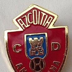 Coleccionismo deportivo: PIN FUTBOL - GUIPUZCOA - AZCOITIA - C. D. ANAITASUNA. Lote 210539523
