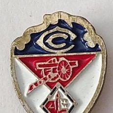 Coleccionismo deportivo: PIN FUTBOL - BIZKAIA - CLUB CAÑON. Lote 210542957