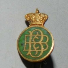 Coleccionismo deportivo: PIN ORIGINAL DEL REAL BETIS BALOMPIE, FUTBOL, REVERSO CON ALFILER, MIDE 1 CMS.. Lote 210713396