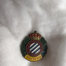 Coleccionismo deportivo: ALFILER. BODAS DE ORO, REAL CLUB DEPORTIVO ESPAÑOL (1900 - 1953). Lote 210935736