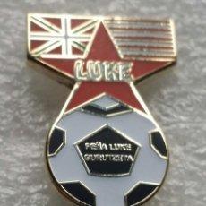 Collezionismo sportivo: ATHLETIC CLUB BILBAO PIN PEÑA LUKE. Lote 210951850