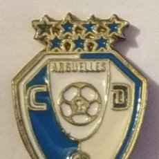 Collectionnisme sportif: PIN FUTBOL - MADRID - ARGUELLES CD. Lote 211449701