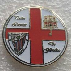 Coleccionismo deportivo: ATHLETIC CLUB BILBAO PIN PEÑA LOS LEONES DE GIBRALTAR 2. Lote 211842850