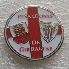 Coleccionismo deportivo: ATHLETIC CLUB BILBAO PIN PEÑA LOS LEONES DE GIBRALTAR 1. Lote 211842868