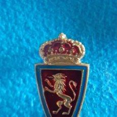 Coleccionismo deportivo: INSIGNIA AÑOS 80 REAL ZARAGOZA. Lote 213332615