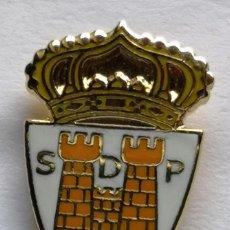 Collectionnisme sportif: PIN FUTBOL - LEON - PONFERRADA - SOCIEDAD DEPORTIVA PONFERRADINA. Lote 213451978