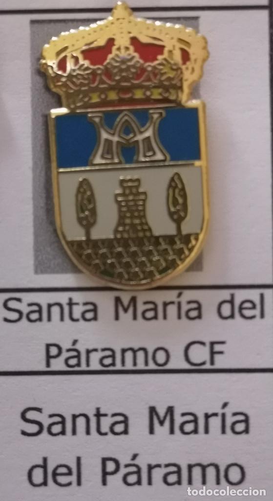 PIN FUTBOL - LEON - SANTA MARIA DEL PARAMO - SANTA MARIA DEL PARAMO CF (Coleccionismo Deportivo - Pins de Deportes - Fútbol)