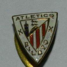 Collectionnisme sportif: INSIGNIA ESMALTADA DEL ATLETIC DE BILBAO, FUTBOL, MIDE 1,5CMS.. Lote 214968910