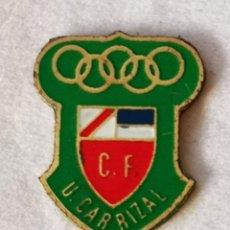 Colecionismo desportivo: PIN FUTBOL - GRAN CANARIA - INGENIO - CF UNION CARRIZAL. Lote 216484545