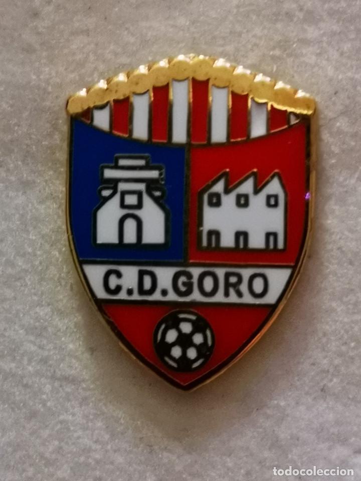 PIN FUTBOL - GRAN CANARIA - TELDE - CD GORO (Coleccionismo Deportivo - Pins de Deportes - Fútbol)