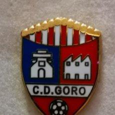 Colecionismo desportivo: PIN FUTBOL - GRAN CANARIA - TELDE - CD GORO. Lote 217194641