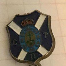 Colecionismo desportivo: INSIGNIA DE AGUJA PIN CLUB DE FUTBOL DEPORTIVO TENERIFE. Lote 218320371