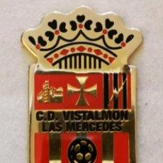 Coleccionismo deportivo: PIN FUTBOL - TENERIFE - SAN CRISTOBAL DE LA LAGUNA - LAS MERCEDES - CD VISTALMON. Lote 218550680