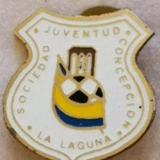 Coleccionismo deportivo: PIN FUTBOL - TENERIFE - SAN CRISTOBAL DE LA LAGUNA - SJ CONCEPCION - AGUJA. Lote 218550706