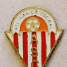 Coleccionismo deportivo: PIN FUTBOL - TENERIFE - SAN CRISTOBAL DE LA LAGUNA - ATLETICO SAN CRISTOBAL. Lote 218550711