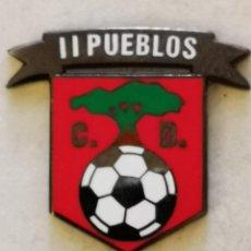 Coleccionismo deportivo: PIN FUTBOL - TENERIFE - SAN CRISTOBAL DE LA LAGUNA - CD II PUEBLOS. Lote 218550722