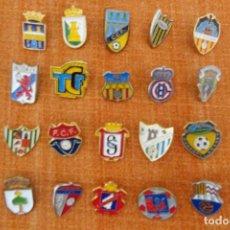 Coleccionismo deportivo: 20 PINS DE FÚTBOL. Lote 220184536