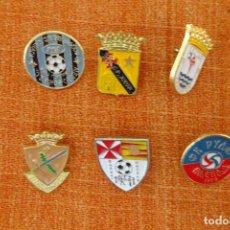 Coleccionismo deportivo: 6 PINS DE FÚTBOL. Lote 220185663
