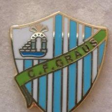 Coleccionismo deportivo: PIN FUTBOL - HUESCA - GRAUS - CF GRAUS. Lote 220805540