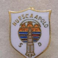 Coleccionismo deportivo: PIN FUTBOL - HUESCA - SD HUESCA APOLO - AGUJA. Lote 220805695