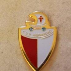 Coleccionismo deportivo: PIN FUTBOL - ZARAGOZA - CD PARQUE HISPANIDAD. Lote 221071826