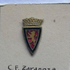 Coleccionismo deportivo: PIN FUTBOL - ZARAGOZA - ZARAGOZA CF. Lote 221280253
