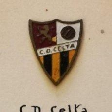 Colecionismo desportivo: PIN FUTBOL - ZARAGOZA - CD CELTA. Lote 221522096