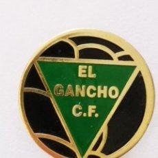 Colecionismo desportivo: PIN FUTBOL - ZARAGOZA - EL GANCHO CF. Lote 221613522