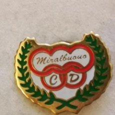 Colecionismo desportivo: PIN FUTBOL - ZARAGOZA - CLUB DEPORTIVO MIRALBUENO. Lote 221819295
