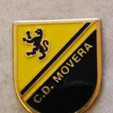 Colecionismo desportivo: PIN FUTBOL - ZARAGOZA - CLUB DEPORTIVO MOVERA. Lote 221819537