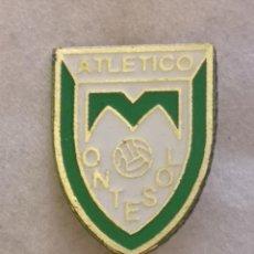 Coleccionismo deportivo: PIN FUTBOL - ZARAGOZA - ATLETICO MONTESOL - AGUJA. Lote 221983921
