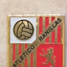 Coleccionismo deportivo: PIN FUTBOL - ZARAGOZA - ARLETICO RANILLAS. Lote 221984416