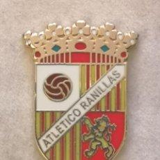 Coleccionismo deportivo: PIN FUTBOL - ZARAGOZA - ARLETICO RANILLAS. Lote 221984497