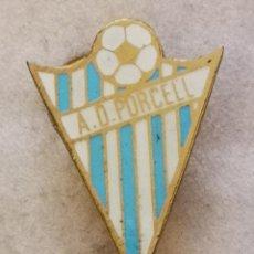 Coleccionismo deportivo: PIN FUTBOL - ZARAGOZA - AD PORCELL - AGUJA. Lote 221984707