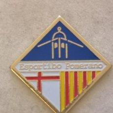 Coleccionismo deportivo: PIN FUTBOL - ZARAGOZA - ESPORTIBO POMERANO. Lote 221984766