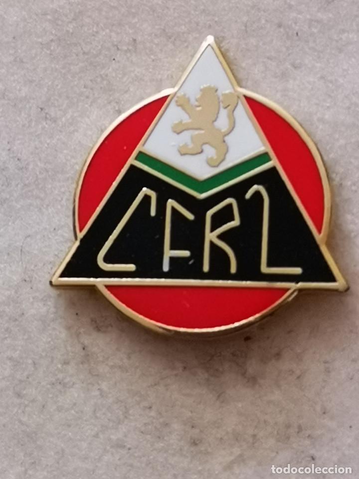 PIN FUTBOL - ZARAGOZA - CF RENFE (Coleccionismo Deportivo - Pins de Deportes - Fútbol)