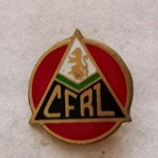 Coleccionismo deportivo: PIN FUTBOL - ZARAGOZA - CF RENFE - AGUJA. Lote 222098356