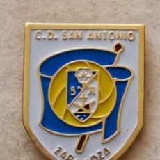 Coleccionismo deportivo: PIN FUTBOL - ZARAGOZA - CD SAN ANTONIO. Lote 222098970