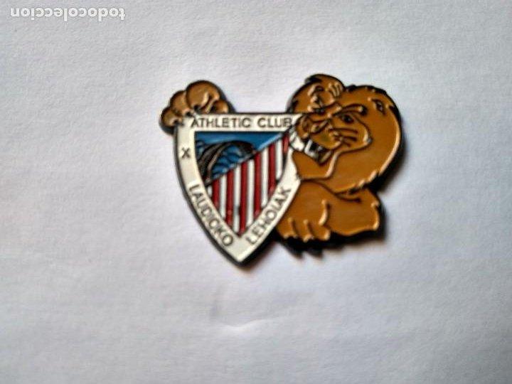 PIN PEÑA ATHLETIC CLUB DE BILBAO- LAUDIOKO LEHOIAK (Coleccionismo Deportivo - Pins de Deportes - Fútbol)