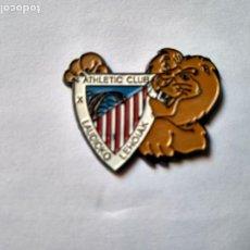 Coleccionismo deportivo: PIN PEÑA ATHLETIC CLUB DE BILBAO- LAUDIOKO LEHOIAK. Lote 222106982