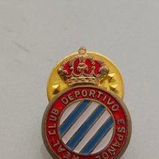 Coleccionismo deportivo: ANTIGUO PIN OFICIAL R.C DEPORTIVO ESPAÑOL CON Ñ. Lote 222120758