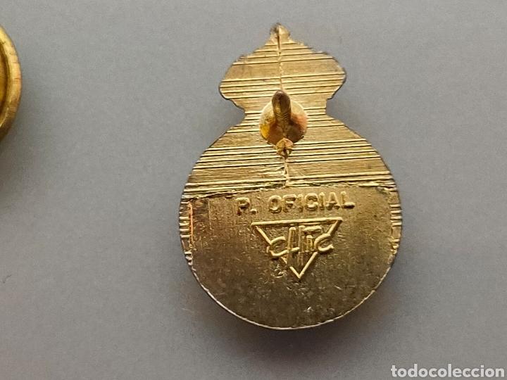 Coleccionismo deportivo: ANTIGUO PIN OFICIAL R.C DEPORTIVO ESPAÑOL CON Ñ - Foto 2 - 222120758